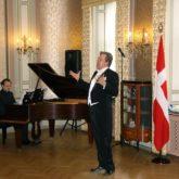 Дмитрий Галихин концерт для представителей лидеров мировых держав Копенгаген (Дания)