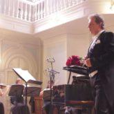Дмитрий Галихин в Московской консерватории им.П.И.Чайковского