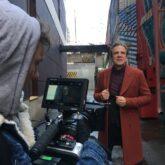 Дмитрий Галихин на съемочной площадке нового клипа
